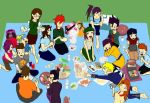 school picnic by Sketchylicious66