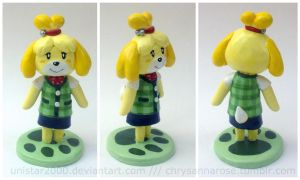 Isabelle Custom Figurine by unistar2000