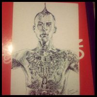 Travis Barker by Super-Midget