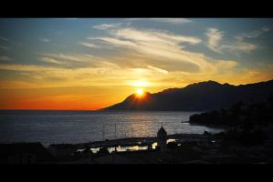 sunset balkan by Clipse89