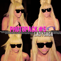 +.PhotoPack Lady Gaga #5 by ElectricChapelofPim
