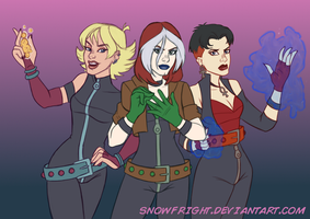 Sisterhood of Evil Mutants by SnowFright