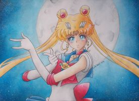 Sailor Moon Crystal by giulystar-chan