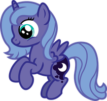 Filly Luna by InkRose98