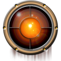Steampunk Space Porthole Icon by yereverluvinuncleber