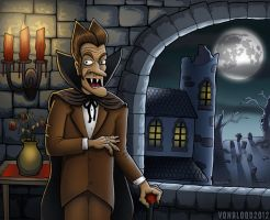 Castle Chocula by vonblood