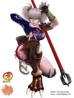 Soul Calibur Legends: Maki by Sketchfighter316