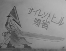 Silent Hill's Pyramid Head XD by Tidus-Yagami