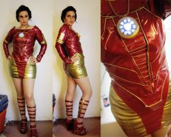 Iron Man Dress by Spwinkles