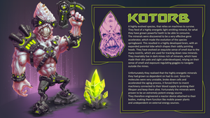 Kotorb - The Mechanical Alien by Cane-force