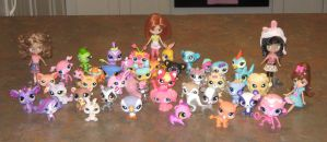 My Big Littlest Pets Collection by CheerBearsFan
