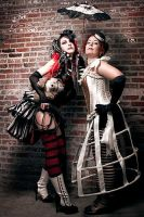 Circus Girls by PerceptionCrisis