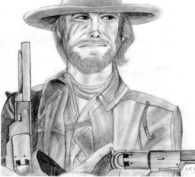 Clint Eastwood by Fish-thulu