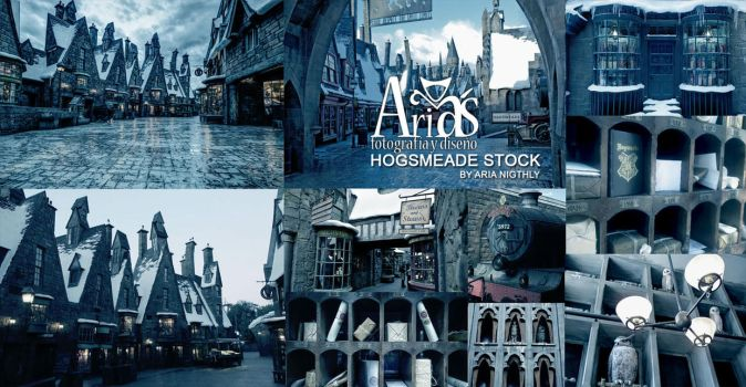 Hogsmeade stock -Backgrounds by AriaNigthly