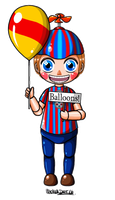 FNAT - Balloon Boy by YukiMiyasawa