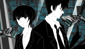 Psycho Pass by fuuchi97