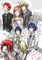 Wedding SaruMi :DD by Dessa-nya