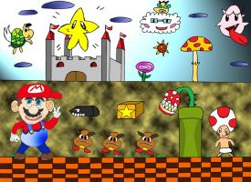 The World of Mario by EmiEmo02