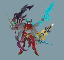 Gilgamesh and the SoulSwords(Old Ver.) by splaty