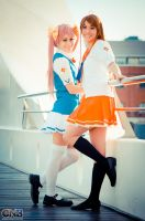 Mirai and Haruka Suenaga Waiting for you by EzeMendez