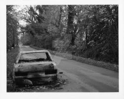 Burnt Out Car 5 by TonallyTormented