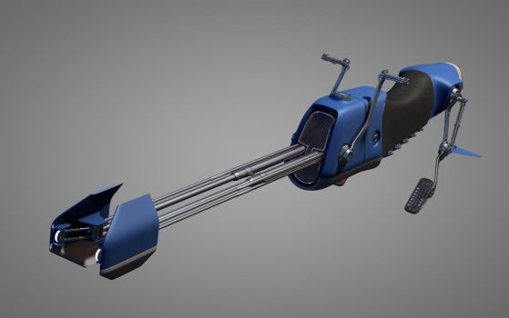 Speeder Bike 1 by 3RDAXISDesign