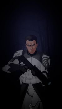 Clone Wars CC Wolffe by Aryanaps