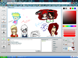 Iscribble doodles by LoneWolf-7819