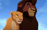 Kovu and Kiara by EyesInTheDark666