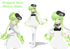MMD Project Diva Macne Nana UPDATE by pianomanjojo