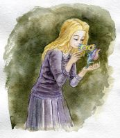 Luna Lovegood - artrade by the-Name-of-the-Cat