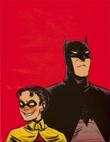Batman and Robin the Second by lebzpel