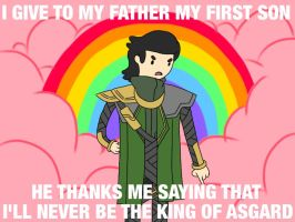 Whimpering Loki Meme by sillyVantas
