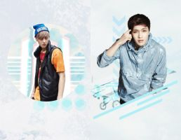 tao and yixing requested by @itsmiswanglyesohot by Candy-Jinie