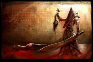 Pyramid head by hamex