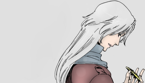That White Haired Guy by suzu1chi