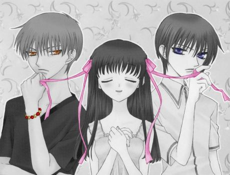 Fruits Basket selected color by Chibi-Animepenguin23