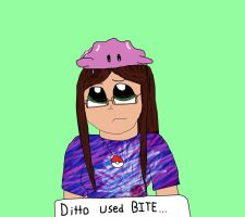Ditto Used Bite colored by coolemyasi