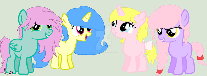 //All my MLP Oc's// by LavenderRoseSwag