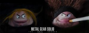 MGS: The Chin Snakes by x-sim1-x