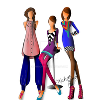 Fashion Illustration by Mahoor18