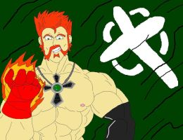 Fiery Red Hand Sheamus by McGreger16