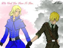 Beauty and the Beast by UsaPeacee