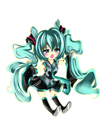 Hatsune miku by Tattypyon
