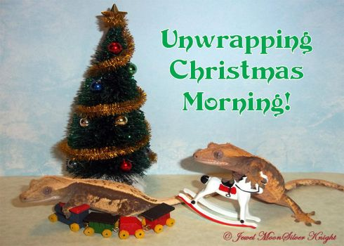 UNWRAPPING CHRISTMAS MORNING! by Heather-Chrysalis