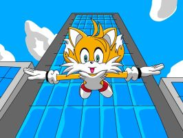 Tails falling by Ingolme