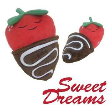 Sweet Dreams Strawberry Plush by kimchikawaii