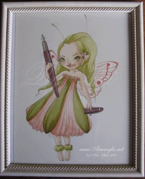 Little Fairy commission by Nailyce