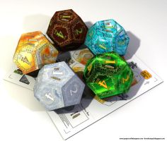 Papercraft d12 Calendars by BraveSirKevin