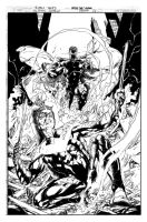 Cover: Justice League 25 by Ivan Reis by hiasi